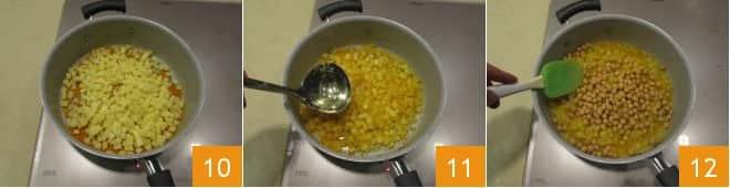 Pasta ceci e patate