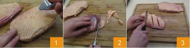 Petto d'anatra al balsamico