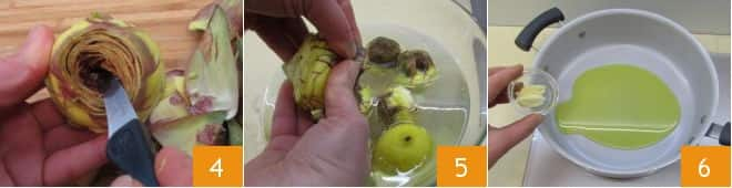 Carciofi in padella