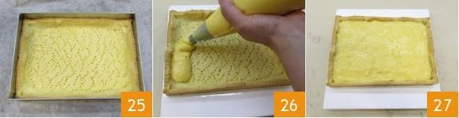 Crostata di kiwi e mirtilli