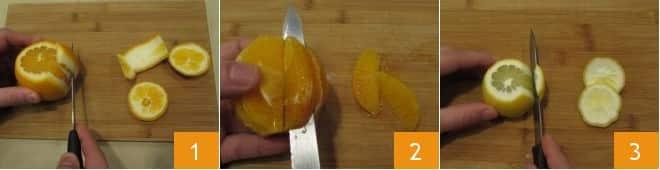 Bavette con pesto di agrumi