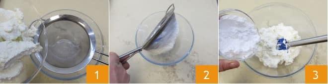 Torta di pasta fillo con ricotta e cioccolato