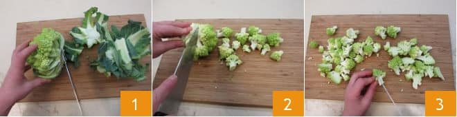 Fregola con broccolo romanesco