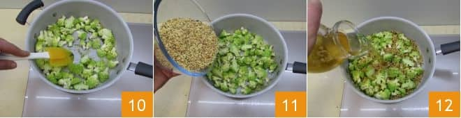 Fregola con broccolo romanesco