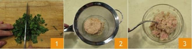 Pasta con tonno acciughe e bottarga