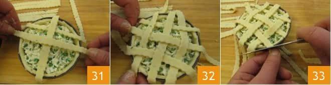 Tortine pasqualine con piselli