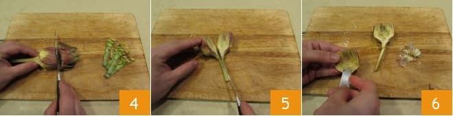 Alaccia al forno con carciofi e piselli