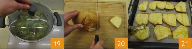 Zuppa di fave piselli e carciofi