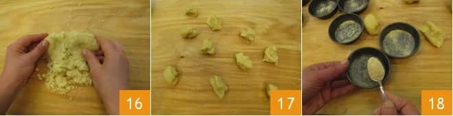 Tortine salate di agretti