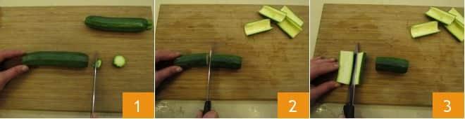 Zucchine ripiene con branzino affumicato
