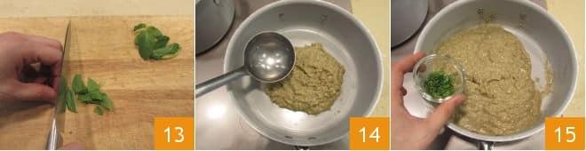 Pasta al pesto di melanzane