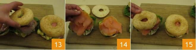 Bagel farcito