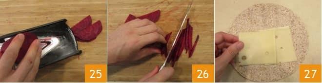 Wrap con hummus piccante e verdure