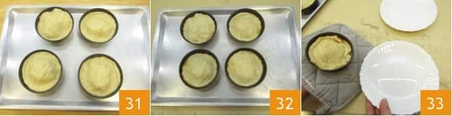 Mini tatin di ananas