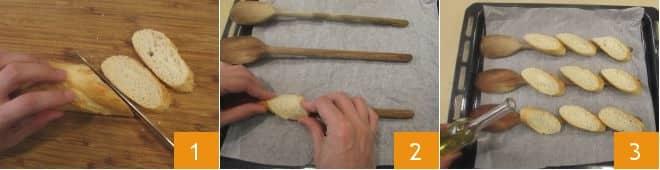 Tartare di carne su bruschetta