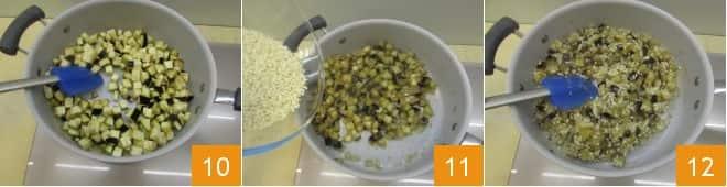 Risotto alle melanzane