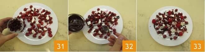 Struffoli ai frutti rossi
