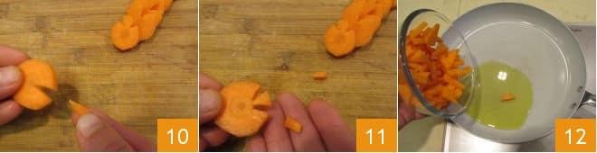 Pasta con le zucche