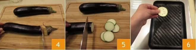 Torretta di melanzane e mozzarella