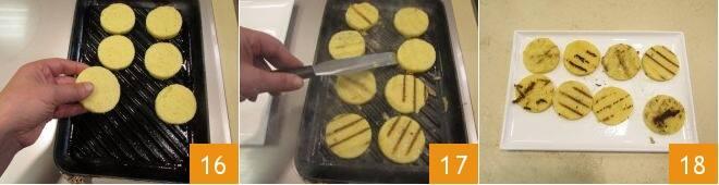 Amuse-bouche di polenta e capasanta