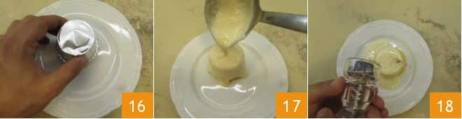 Tortino di polenta con cuore fondente