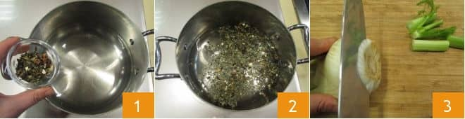 Merluzzo al vapore di tè