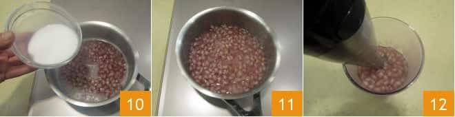 Merluzzo con salsa alla melagrana
