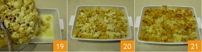 Pasta gratinata con cavolfiore