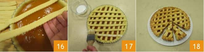 Crostata alla confettura di albicocche