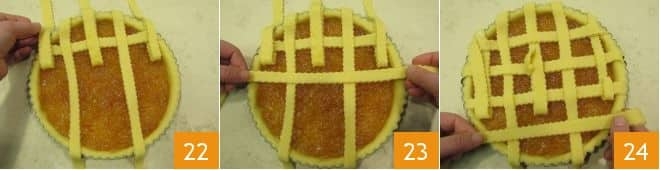 Crostata all'arancia