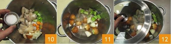 Ossobuco alla milanese con risotto giallo