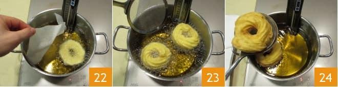 Zeppole di San Giuseppe fritte