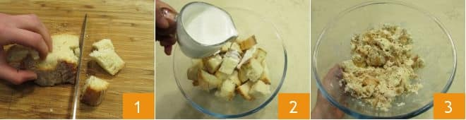 Torta di pane salata