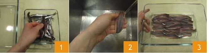 Spiedini di pesce in salsa Worcestershire