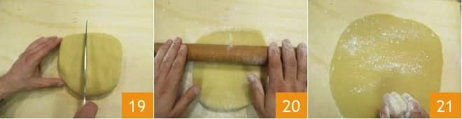 Crostata al latte e mandorle