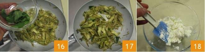 Torta salata carciofi e ricotta