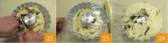 Babà rustico salsiccia e friarielli