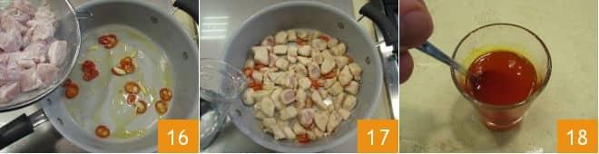 Bocconcini di pollo allo zafferano