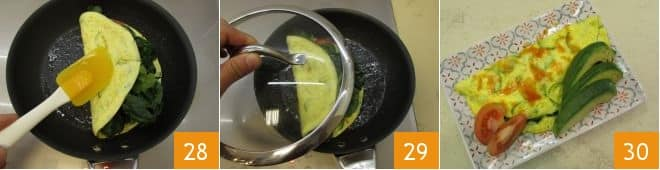 Omelette di verdure