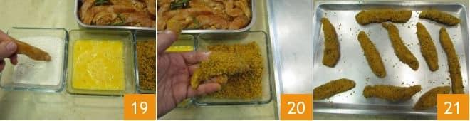 Pollo fritto con maionesi veloci