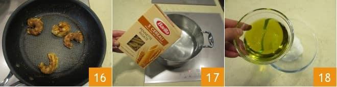 Pasta con verdure e crema al fiordilatte
