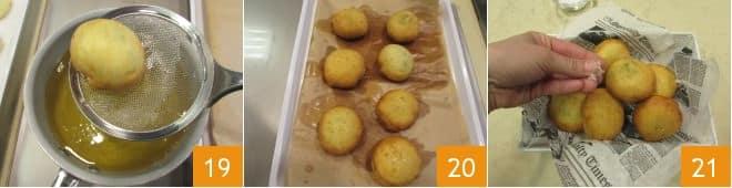 Bombe di patate veloci