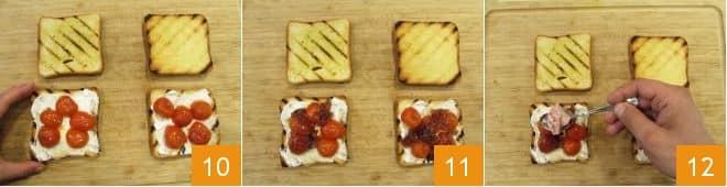 Toast al tonno e crescenza