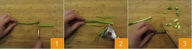 Pasta con asparagi, stracciatella e fiori di zucca