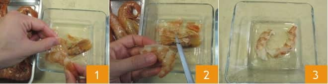Pasta panna e gamberi