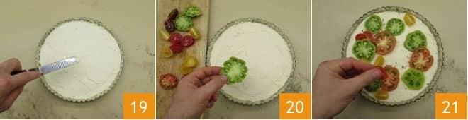 Crostata di pomodori