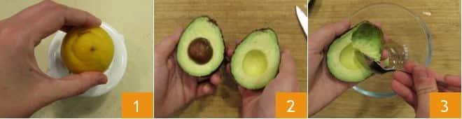 Tartare di barbabietola e avocado