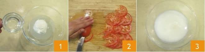 Rotolo di mozzarella farcito