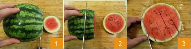 Finger food anguria e caprino