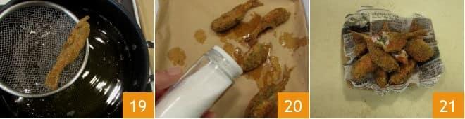 Triglie ripiene e fritte